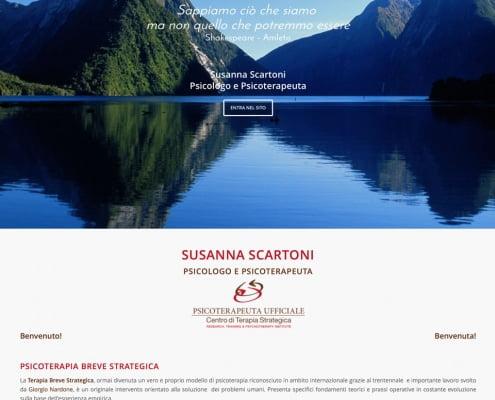 Psicologo Susanna Scartoni Website Arezzo - Lycnos Web Agency